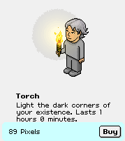 """Torch, a """"special effect"""""""